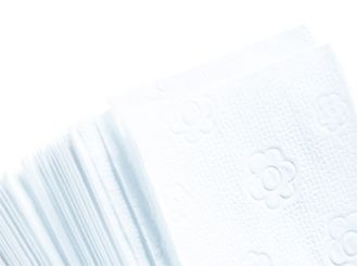 Fripa towels bright white 25 x 23 cm 20 x 150 Sheets 1x3000