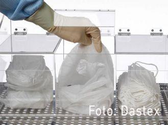 Acryl dispenser box, transparent, 300×300×300mm (WxH×D) 1x1 items