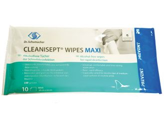 Cleanisept® Wipes Maxi 20 x 22 cm, 1x10 Tücher