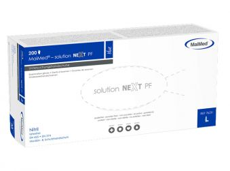 MaiMed-solution next Nitril Handschuh, puderfrei, weiß Gr. XL 1x200 Stück