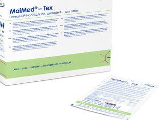 MaiMed®-Tex sterile OP-Handschuhe, Latex, Gr. 6,5 1x50 Paar