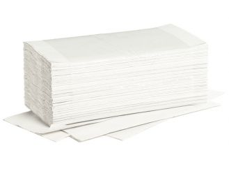 Fripa Ideal towels bright white 25 x 23 cm 20 x 250 Sheets 1x5000
