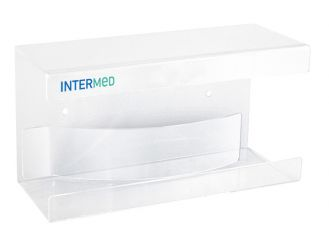 INTERMED Boxen-Wandhalter aus Acryl 1x1 items