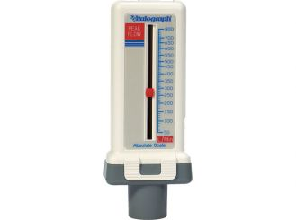 Peak-Flow-Meter standard for adults and children 1x1 items