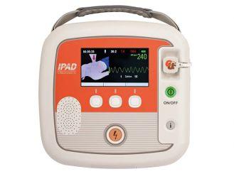 -Defibrillator ME PAD PRO, halbautomatisch, mit EKG-Anzeige, 1x1 Stück