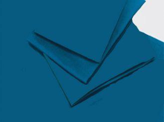 Abdecktuch 2,40 x 1,50 m, blau 1x1 Stück