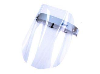 Gesichtsschutzschild, glasklar, aufklappbar 1x1 Stück