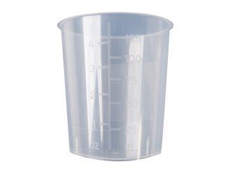 Mehrzweckbecher PP, ohne Deckel, 125 ml, 1x1 Stück