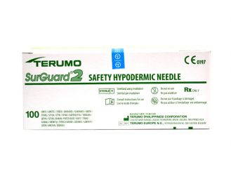 Terumo SurGuard2 0,40 x 13 mm, grau 1x100 Stück