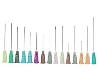 Neopoint® Kanüle 1,2 x 40 mm, rosa, 1x100 Stück