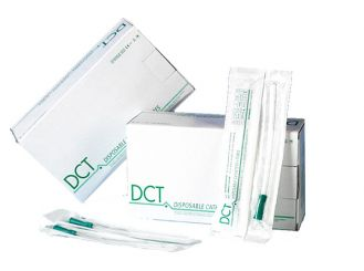 DCT Frauenkatheter 18cm, gerade, CH12, 1x50 items