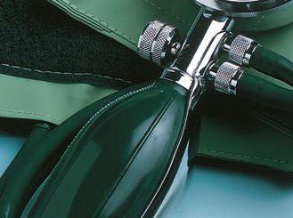 Druckball für ERKA Blutdruckmessgeräte, grün, ohne Reduzierventil 1x1 Stück