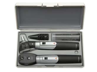 HEINE mini 3000® LED Ophthalmoskop + LED F.O.Otoskop Set 1x1 Set