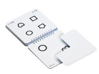 LEA Ferntafeln mit 4 Einzelsymbolen 1x1 items