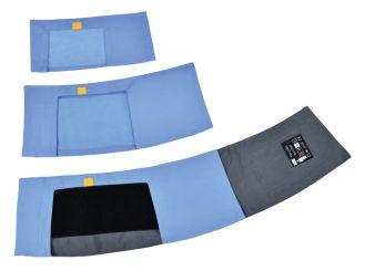 boso Schutzbezüge für TM - 2450 - Manschetten 2x5 Stück