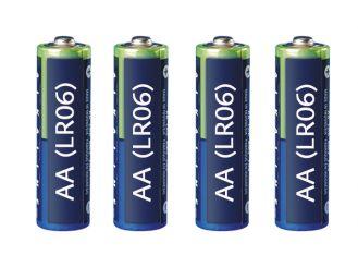 Batterien LR 06 Mignon AA 1,5 Volt 1x4 Stück