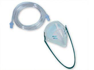 Oxygen inhalation mask for adults 1x1 items