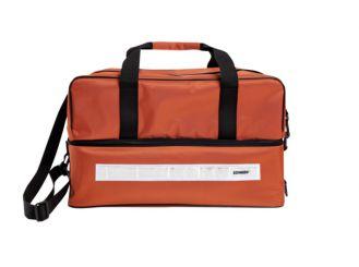 Pflege- / Notfall-Tasche, leer, orange 1x1 Stück