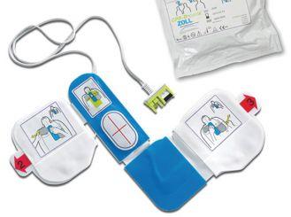 ZOLL pedi padz II, pädiatrische Elektrode, Kinder bis 25 kg, 1x1 Paar
