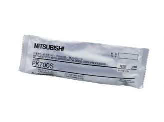 Videoprinterpapier Mitsubishi PK- 700 S - Original, Farbträger Small,Folie, ohne Kassette 1x1 Stück