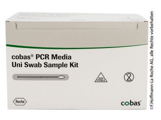 cobas PCR Media Uni Swab Sample Kit 1x1 Stück