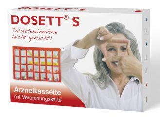 Dosett® S Arzneikassette rot 15 x 10 x 2,5 cm 1x1 Stück