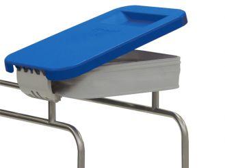 Deckel blau für Wäschesammler Kompakt 1x1 Stück