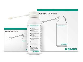 Askina® Skin freeze 170ml + 50 ml Applikatoren (5 mm) 1x1 Set