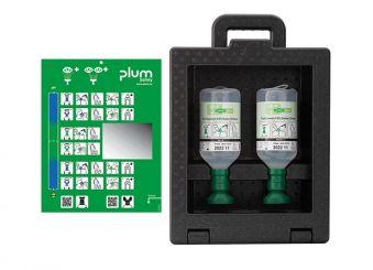 Plum iBox 2 - inklusive 2 x 500 ml Plum Augenspülung 1x1 items