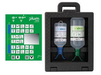 Plum iBox 2 - inkl. 500 ml Plum pH Neutral DUO und 1000 ml Plum Augenspülung DUO 1x1 items