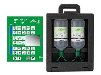 Plum iBox 2 - inklusive 2 x 1000 ml Plum Augenspülung DUO 1x1 items