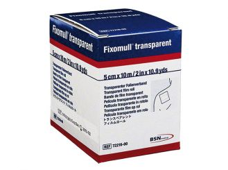Fixomull® transparent 10 m x 5 cm, latexfrei 1x1 Stück