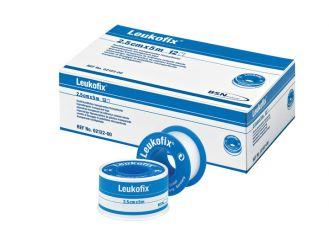 Leukofix® 5 m x 2,5 cm ohne Schutzring 1x12 Rollen