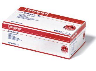 Leukoplast® Rollenpflaster 5 m x 2,50 cm hautfarben ohne Schutzring 1x12 Role