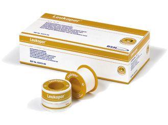 Leukopor® 5 m x 1,25 cm , ohne Schutzring, latexfrei 1x24 Rollen