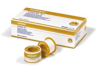 Leukopor® 5 m x 2,50 cm, ohne Schutzring, latexfrei 1x12 Rollen