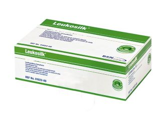 Leukosilk® 9,2 m x 1,25 cm weiß ohne Schutzring 1x24 Rollen