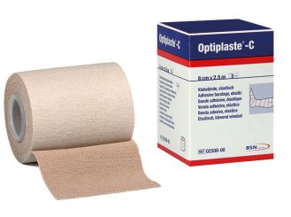 Optiplaste®-C 2,5 m x 8 cm Klebebinden 1x5 items