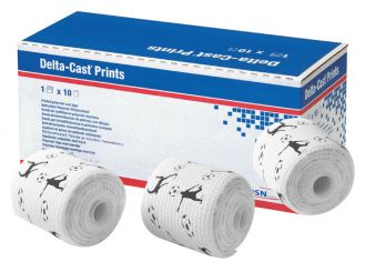 Delta-Cast® Prints 3,6 m x 5,0 cm 1x10 items