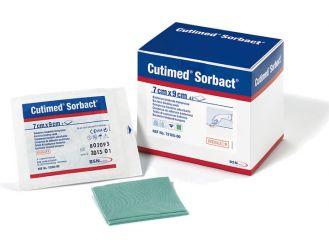 Cutimed®Sorbact® 7 x 9 cm Saugkompresse, latexfrei, 1x42 Stück