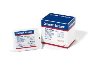 Cutimed®Sorbact® 10 x 10 cm Saugkompresse, latexfrei, 1x42 Stück