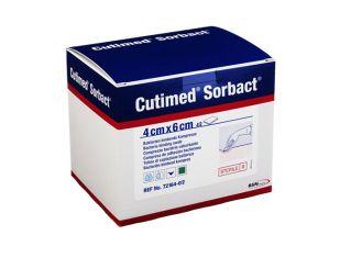 Cutimed® Sorbact® 4 x 6 cm Kompresse, latexfrei, 1x42 Stück