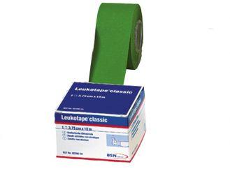 Leukotape® 10m x 3,75 cm, grün, lose, 1x12 Rollen