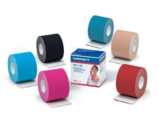 Leukotape® K 5 m x 5 cm, blau 1x1 Rollen