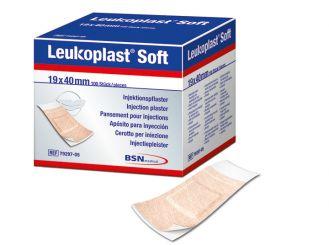 Leukoplast Soft, Injektionspflaster, 19 x 40 mm 1x100 items