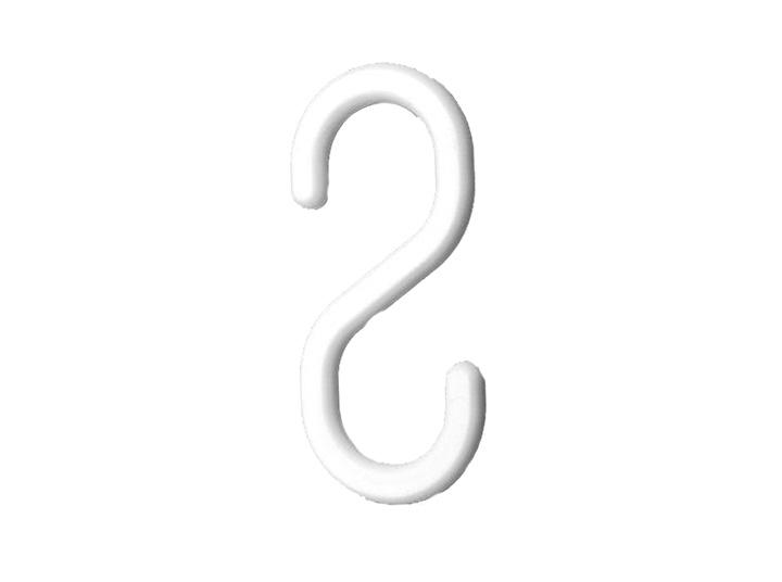 Intermed S Haken 55 Mm Kunststoff Weiß 1x100 Stück